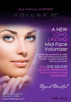 We are now offering #Juvederm Voluma XC at our practice! Contact us today to schedule a consultation.