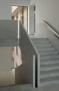 44 ideas interior stairs stone railings for 2019 Architecture Design, Stairs Architecture, Interior Staircase, Staircase Design, Escalier Design, Stair Detail, Concrete Stairs, Stair Handrail, Stair Steps