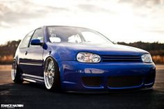 # Stanced & Fitted Volkswagen Golf MK4 GTI #