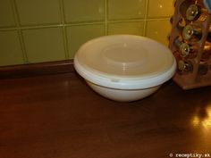 recept na domaci chlieb 6 Tableware, Kitchen, Dinnerware, Cooking, Tablewares, Kitchens, Dishes, Cuisine, Place Settings
