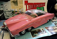Thunderbirds Fab 1 Used By Lady Penelopy Retro Toys, Vintage Toys, Best Scale, Thunderbirds Are Go, Sci Fi Models, Corgi Toys, Kids Tv, Classic Toys, Old Toys