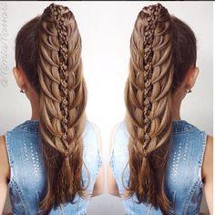 Hola amig@s hoy les traigo mas IDEAS en peinados   para niñas para que practiquen.   Espero les agraden      aqui las imagenes:        ...