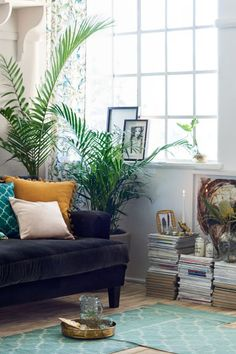 Katoenen mat met dessin - Turkoois - HOME | H&M BE 1