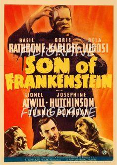 ++FRANKENSTEIN 30er Jahre++ +Autogramm+ Boris Karloff