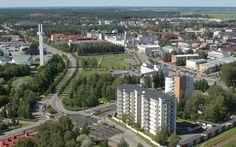 Seinäjoki, South Ostrobothnia province of Western Finland. - Etelä-Pohjanmaa.