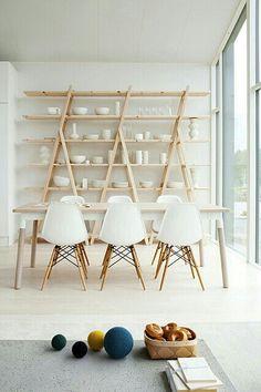 Mesa 6 puestos paralelos