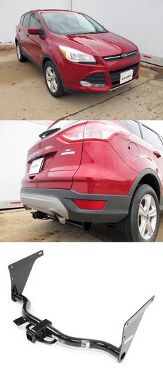 The Hidden Hitch Trailer for the Ford Escape 2014! Wonderful for towing, cargo carriers and transporting bikes to and from the biking destination! Click the photo for more photos, 'how to' installation videos and accessories!