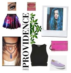 """♥"" by yefiny-10 on Polyvore featuring moda, Topshop, Valentino, Vans y She's So"
