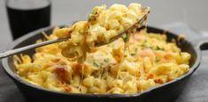 Μακαρόνια με τυριά στο φούρνο και τραγανή κρούστα