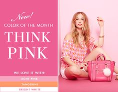 New Color of the Month Think Pink