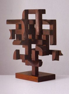 """One last piece from Mario Dal Fabbro """"Construction No. 5"""" - 1970. Love his work."""