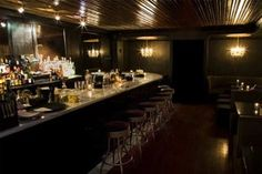 Death and Co in New York City:  The most exquisite cocktails. Sit at the bar and watch.