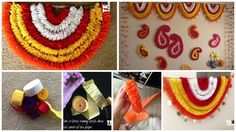 How to make crepe paper garlands
