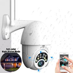 Hd Security Camera, Wireless Security Cameras, Outdoor Home Security Cameras, Wifi, Zoom Hd, Ptz Camera, Security Surveillance, Home Security Systems, Hd 1080p
