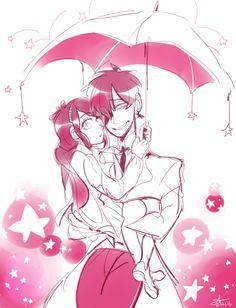 very pink tabel doodle