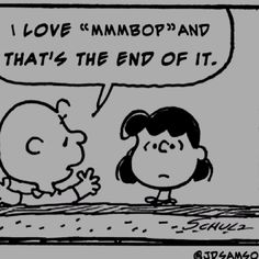 Can't argue with Charlie Brown!