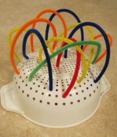 Pipe Cleaner Sculptures -  Pinned by @PediaStaff – Please Visit http://ht.ly/63sNt for all our pediatric therapy pins
