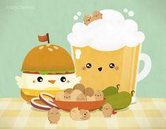 Bar Food by ~orangecircle on deviantART