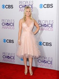 39th Annual People's Choice Awards - Kaley Cuoco