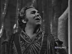 "Gianfranco Cecchele as Calaf  ""Nessun dorma"" Turandot - RAI _ 1968"