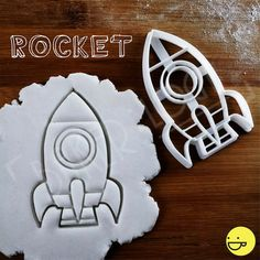 Spacecraft & other Space themed cookies cutters | biscuits fondant clay…