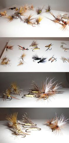 flies 23812: pistol pete hi-country fishing flies, size 6/10, Fly Fishing Bait