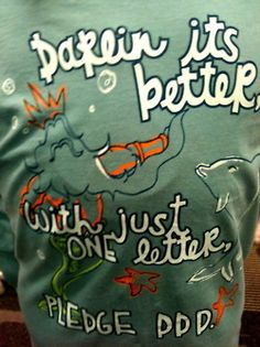 "Adorable shirt from Spring Hill's ""Under the Sea"" themed Bid Day!"