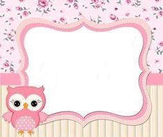 New Baby Shower Invitaciones Buhos Ideas Baby Shower For Men, Baby Shower Gifts, Baby Shower Themes Neutral, Owl Birthday Parties, Owl Classroom, Illustration Noel, Cheap Christmas Gifts, Borders And Frames, Baby Shower Decorations