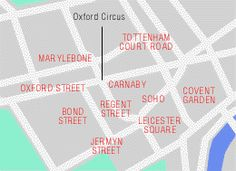 Guide with pictures of London's favourite shopping streets