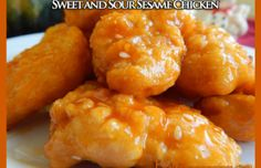 Sweet and Sour Sesame Chicken - HowToInstructions.Us