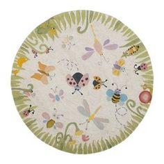 round bug rug