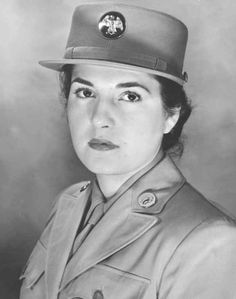 Oveta Culp Hobby.. born in Killeen, Tx was the first woman  awarded the U.S. Army Distinguished Service Medal in 1945 and 1st to wear the proper uniform for military nurses.She was the 1st secretary of the US Department of Health, Education & Welfare, 1st commanding officer of the Women's Army Corps, & chairperson of the board of the Houston Post.  She died in Houston Tx. 1995.  A library, a dorm at Texas A & M, a soldiers & family readiness center & an elementary school are all named for…