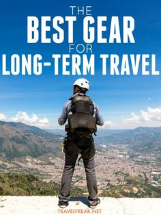 The best bags, gear, accessories, electronics, photography equipment and more for long-term travelers recommended by travelFREAK, a nomad who's been on the road for four years and counting.
