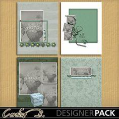 Happy Forever 11x8 Album 3-000  http://www.mymemories.com/store/designers/Caroline_B?r=carolineb