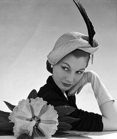 Vintage Hat.   For all your hat requirements visit www.eledahats.co.uk