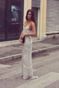 gorgeous maxi dress - more → http://fashiondesigningcatherine.blogspot.com/2013/10/gorgeous-maxi-dress.html