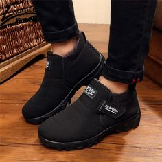 Brand Men Winter Boots Fur Snow Boots Mens Winter Shoes Ankle Boots For Mens Winter Footwear Plush Fur Botas Hombre  #sunshades #bags #belts #love #mensfashion #fashionweek #sexyshoes #sale #wallets #money #wedding #style #followme #gloves #accessories