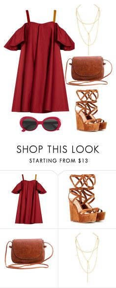 """Dalia."" by gatocat ❤ liked on Polyvore featuring Anna October, Gianvito Rossi, Jules Smith and Yves Saint Laurent"