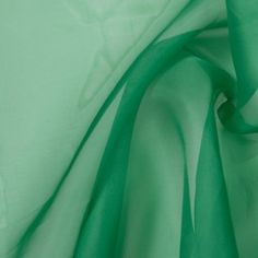 Oscar de la Renta Ming Green Silk Organza 305190 Need to create shape or volume? Then organza is the fabric for you! Arriving at mood from the fabulous Oscar de la Renta, we have a gorgeous, light-weight, ming green, silk organza that is exceedingly shee Green Silk, Green Fabric, Mood Fabrics, Full Sleeve Tattoos, Printed Ribbon, Silk Organza, Fabulous Fabrics, Different Fabrics, Fashion Fabric