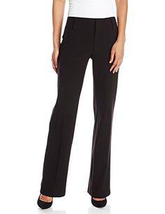 AGB Women's Plain Weave Pant, Black, 12