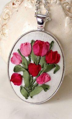 Humming Needles, ribbon embroidery