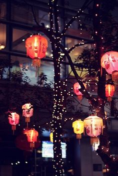 Beautiful, dreamy Chinese lanterns and fairy lights. Perfect accessory to a venue! #topshoppromqueen