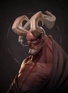 3d Model Character, Character Art, Fantasy Portraits, Arte Obscura, Character Design Animation, Cg Art, Creature Concept, Creature Design, Character Design Inspiration