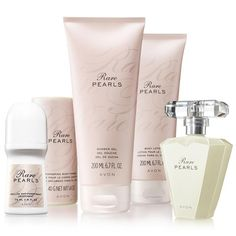 Rare Pearls 5-Piece Glamour Collection. Great value pack! Comes with all full sized products! Smell great at any event! Everyone will be wondering what your wearing! Rare Pearls new and improved look. Shop youravon.com/megankurtz and see what I have to offer, you won't be disappointed.