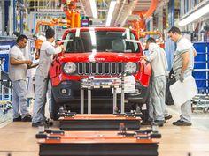 Canadauence TV: Fiat Chrysler e o primeiro Jeep Renegade no Brasil...