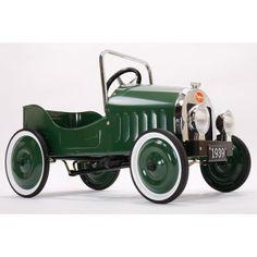 Voiture à pedales classique verte  Verde  Auto classiche  149,00 €