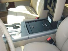 Ford F150 Flow Through Floor Console: 2004 - 2008