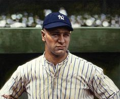 Lou Gehrig, Baseball Art, Pilot, Mens Sunglasses, Photographers, Instagram, Painting, Fashion, Moda