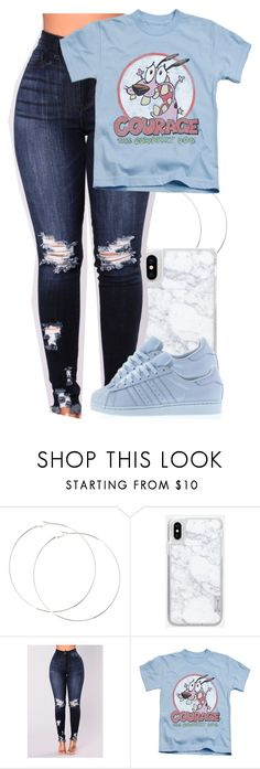 """Untitled #5786"" by rihvnnas ❤ liked on Polyvore featuring Casetify and adidas"
