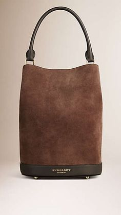 The Bucket Bag in Suede
